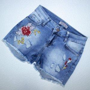 Шорты джинсовые - код 13687