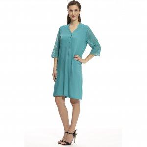 женское штапельное платье - код 16297