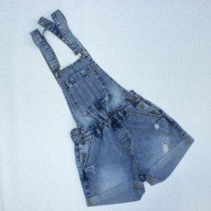 Комбинезон джинсовый - код 17009