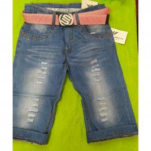 Шорты джинсовые - код 23278