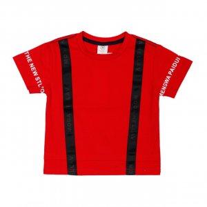 Футболка Красная ХБ - код 24761