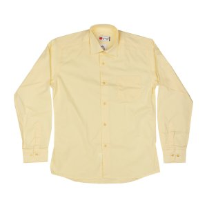 Рубашка Желтая ХБ Турция - код 26079