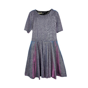 Платье Малиновое Синтетика Турция - код 26222