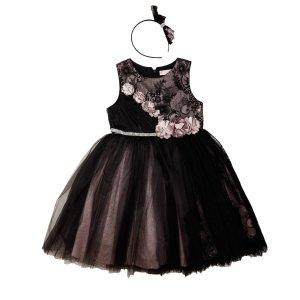Платье Черное Сетка Турция - код 26223