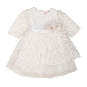 Платье Белое Гипюр Турция - код 26229