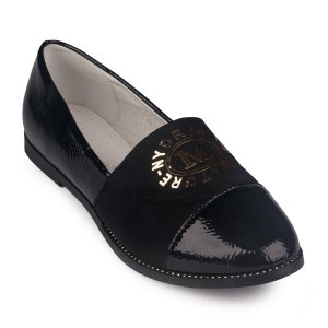 Туфли Черные Экокожа - код 26804