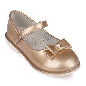 Туфли Золотые Экокжа - код 26805