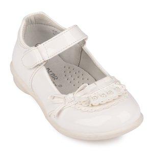 Туфли Белые Лак - код 26807