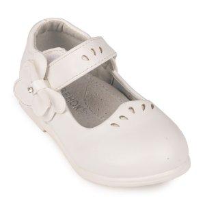 Туфли Белые Экокожа - код 26808