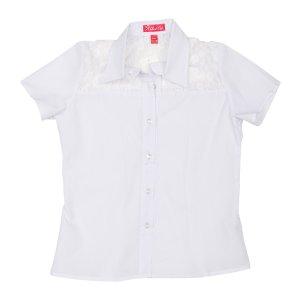 Рубашка Белая ХБ - код 26997