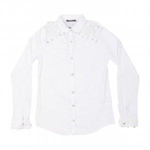 Рубашка Белая ХБ Турция - код 27245