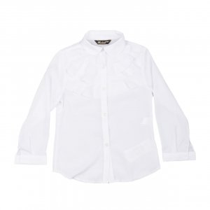 Рубашка Белая ХБ Турция - код 27296