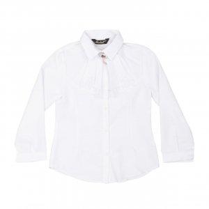 Рубашка Белая ХБ Турция - код 27304