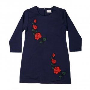 Платье Синие ХБ Турция - код 27329