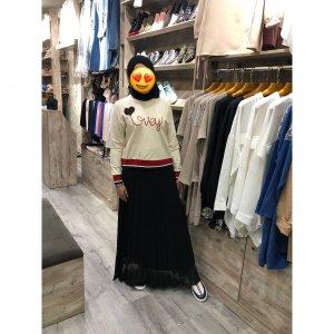 Двойка: кофта+ юбка - код 27343