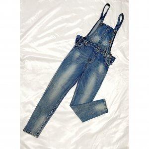 Комбинезон джинсовый - код 27426