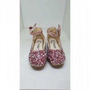 Туфли Розовые Кожа - код 27451