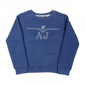 Толстовка Синяя Хлопок Турция - код 27788