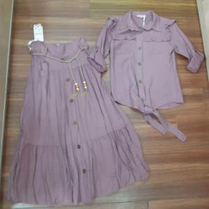Двойка кофта юбка - код 31546