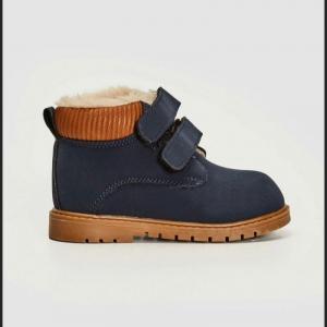 Утеплённые ботинки для мальчика
