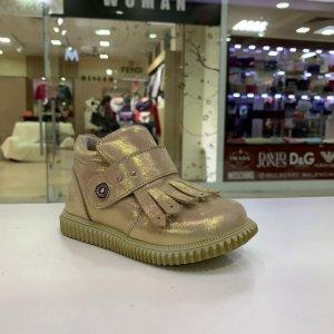 Ботинки на байке - код 7586